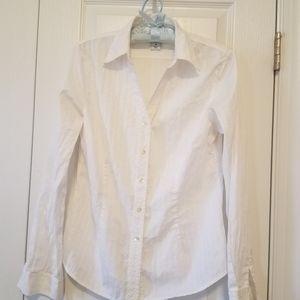 White Gap Button Down Shirt